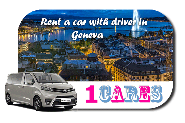 Hire a car with driver in Geneva