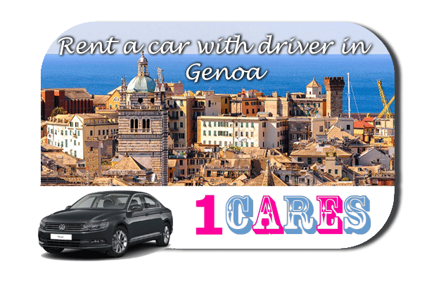 Rent a car with driver in Genoa