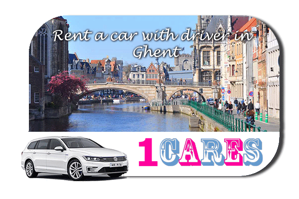 Rent a car with driver in Ghent