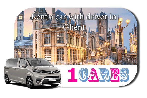 Hire a car with driver in Ghent
