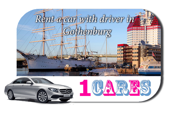 Rent a car with driver in Gothenburg