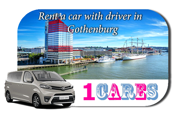 Hire a car with driver in Gothenburg