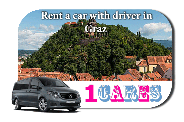 Hire a car with driver in Graz