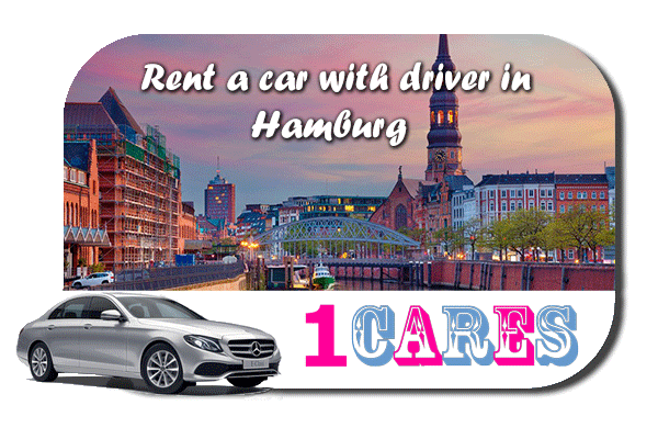 Rent a car with driver in Hamburg