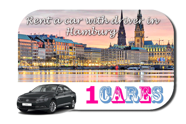 Hire a car with driver in Hamburg
