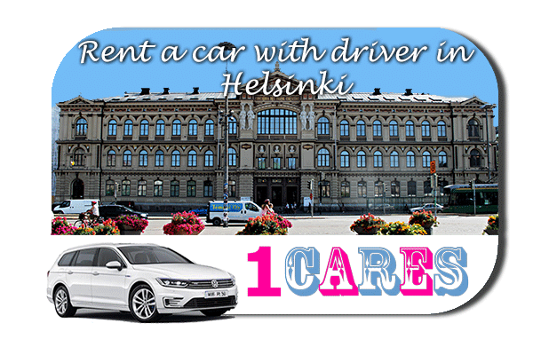 Rent a car with driver in Helsinki