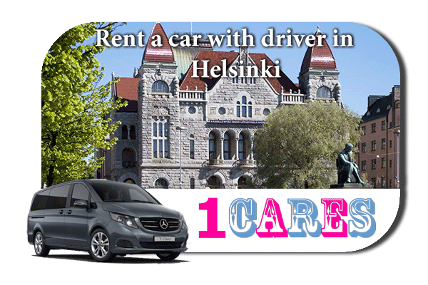 Hire a car with driver in Helsinki