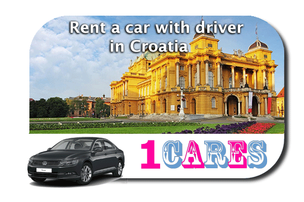 Rent a car with driver in Croatia