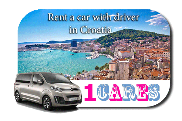 Hire a car with driver in Croatia