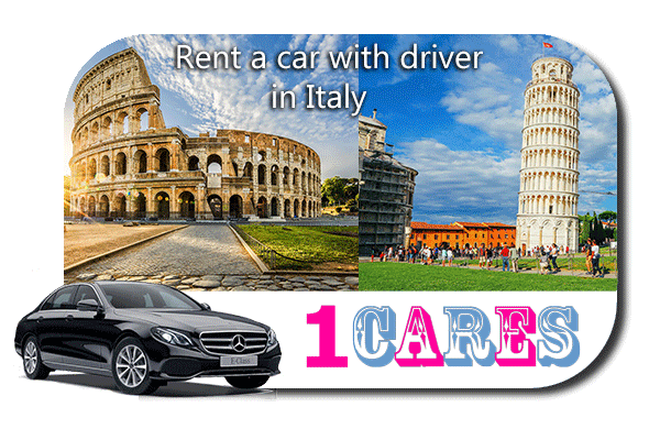 Rent a car with driver in Italy