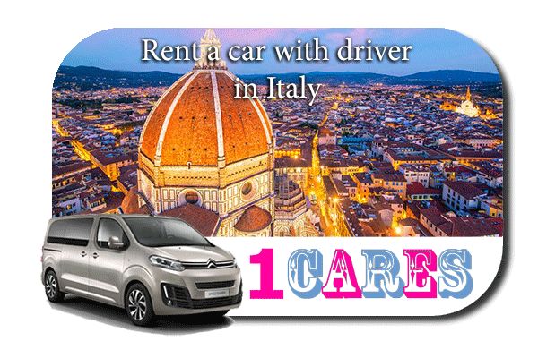 Hire a car with driver in Italy