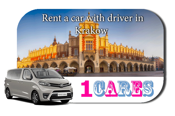 Hire a car with driver in Krakow