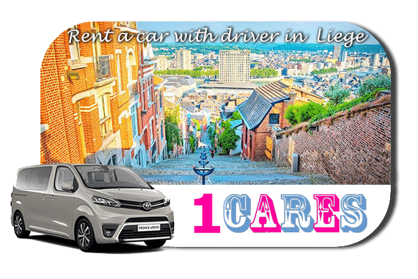 Hire a car with driver in Liège
