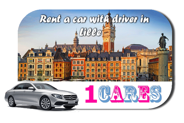 Rent a car with driver in Lille