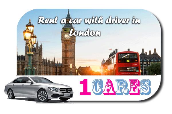 Hire a car with driver in London