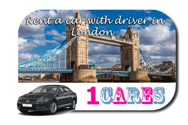 Rent a car with driver in London