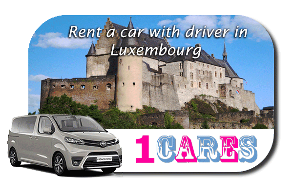 Hire a car with driver in Luxembourg