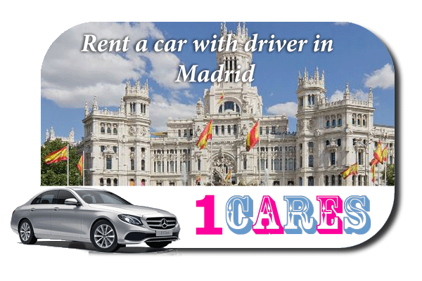 Hire a car with driver in Madrid