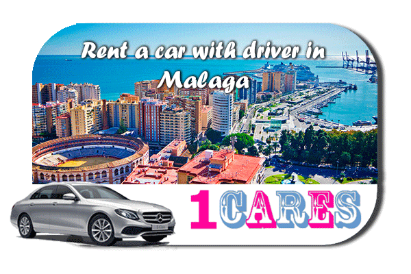 Rent a car with driver in Malaga