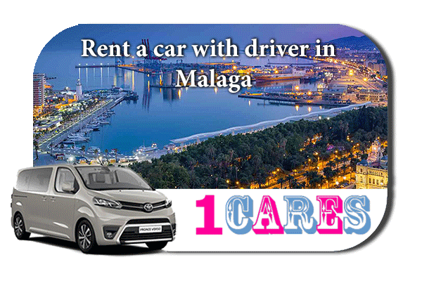 Hire a car with driver in Malaga