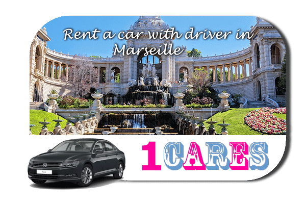 Rent a car with driver in Marseille