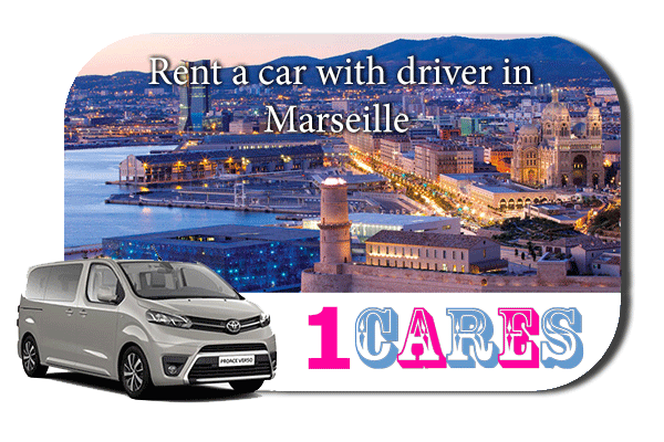 Hire a car with driver in Marseille