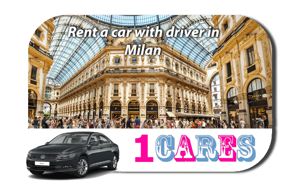 Rent a car with driver in Milan