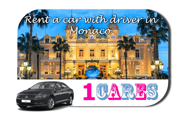 Rent a car with driver in Monaco