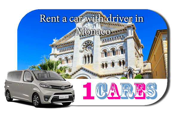 Hire a car with driver in Monaco