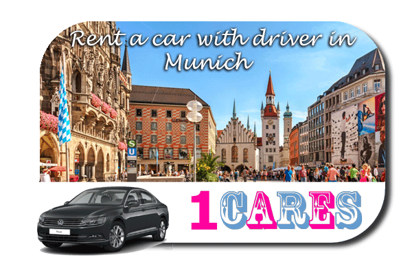 Rent a car with driver in Munich