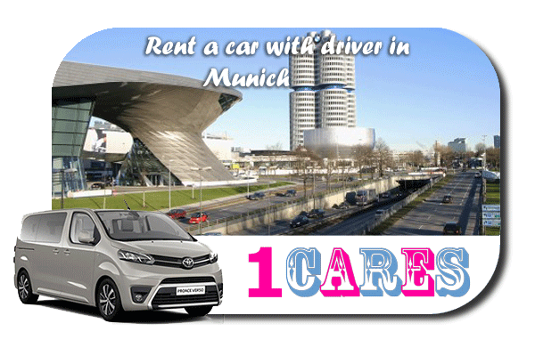 Hire a car with driver in Munich