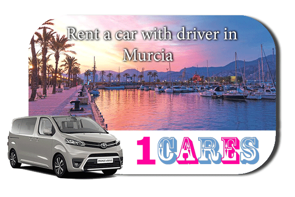 Hire a car with driver in Murcia