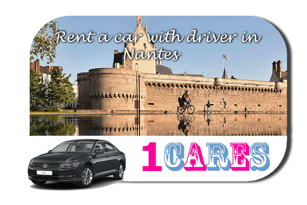 Rent a car with driver in Nantes