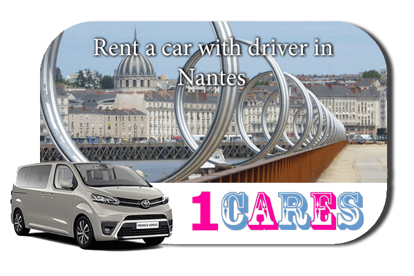Hire a car with driver in Nantes