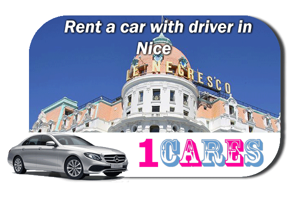 Rent a car with driver in Nice