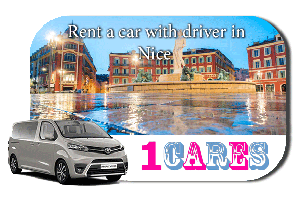 Hire a car with driver in Nice