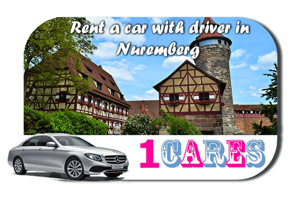 Rent a car with driver in Nuremberg