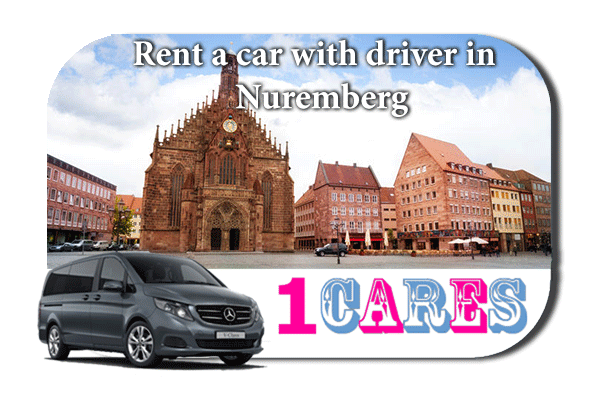Hire a car with driver in Nuremberg