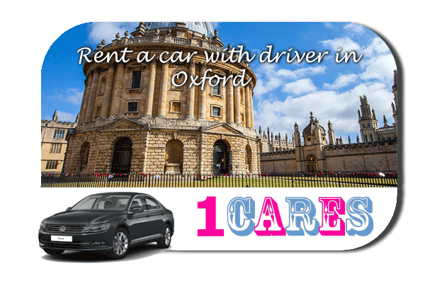 Rent a car with driver in Oxford