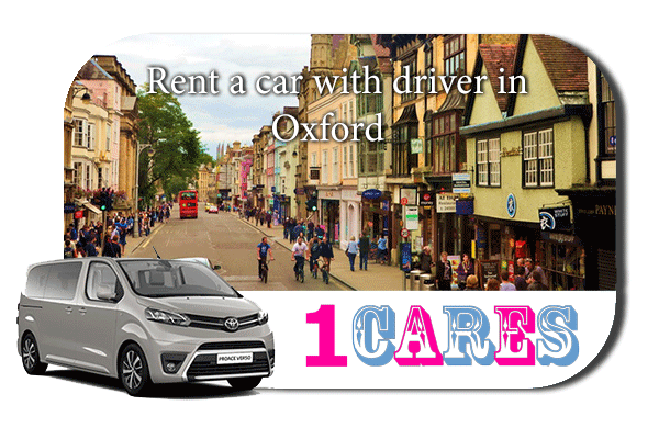 Hire a car with driver in Oxford