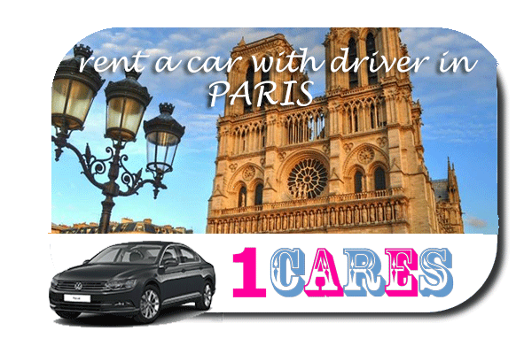 Rent a car with driver in Paris