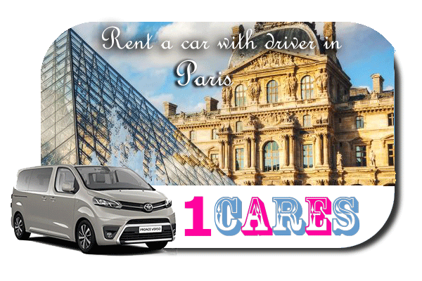 Hire a car with driver in Paris