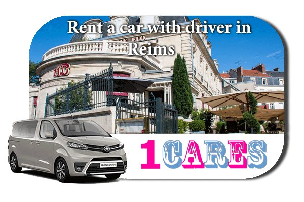 Rent a car with driver in Reims