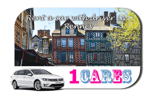 Rent a car with driver in Rennes