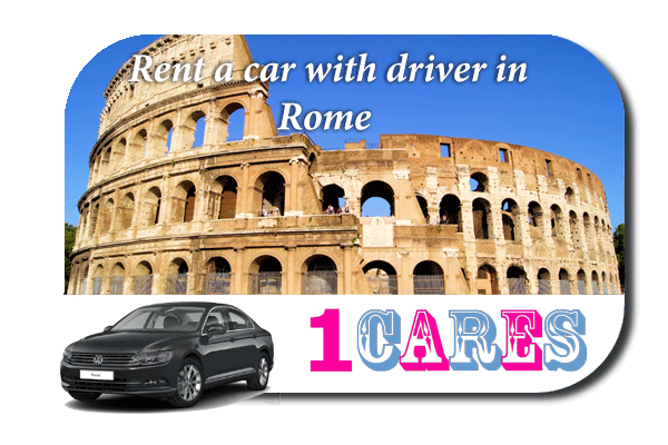 Hire a car with driver in Rome