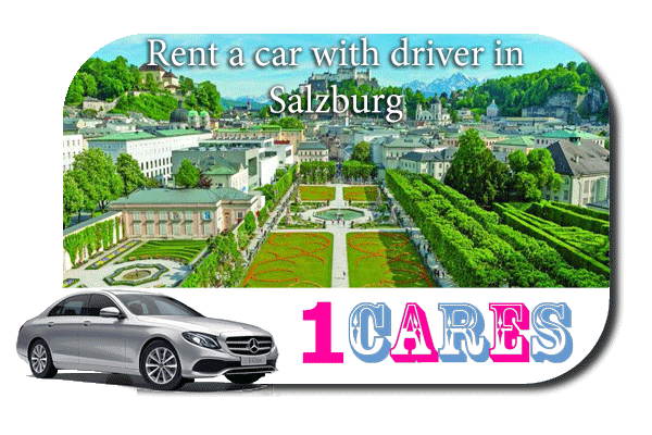 Rent a car with driver in Salzburg