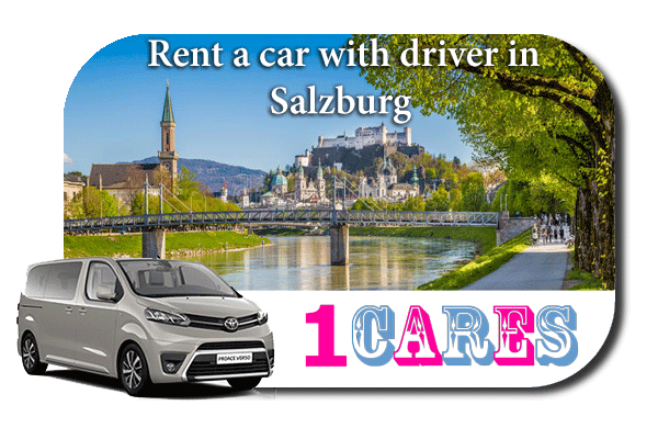 Hire a car with driver in Salzburg