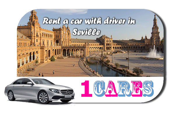 Rent a car with driver in Seville