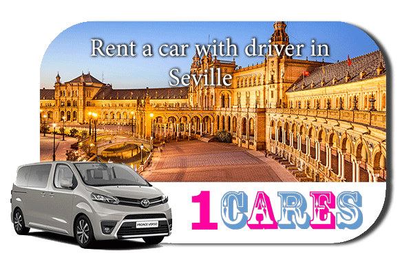 Hire a car with driver in Seville