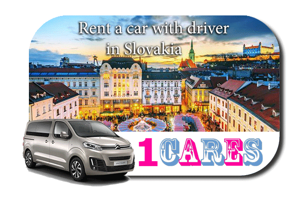 Hire a car with driver in Slovakia